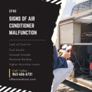 Signs of air conditioner malfunction